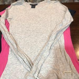 Abercrombie Sheer Long sleeve Shirt